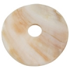 Flat Back Shell Washer Shape 45mm Natural